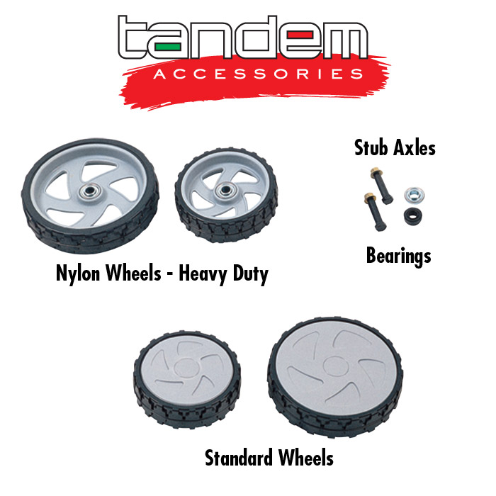 Mower spares and accessories